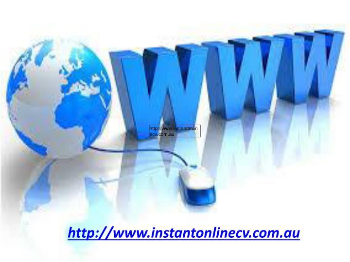 http://www.instantonlinecv.com.au