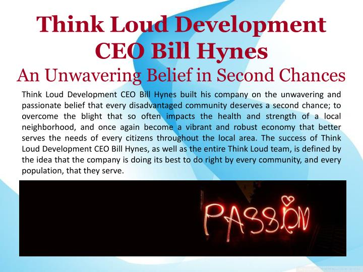 Think Loud Development