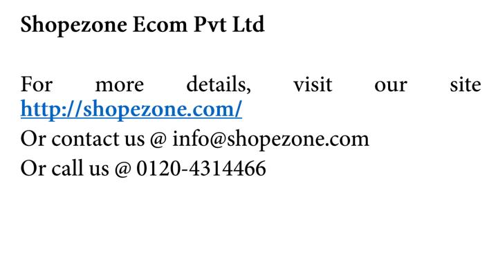 Shopezone Ecom Pvt Ltd