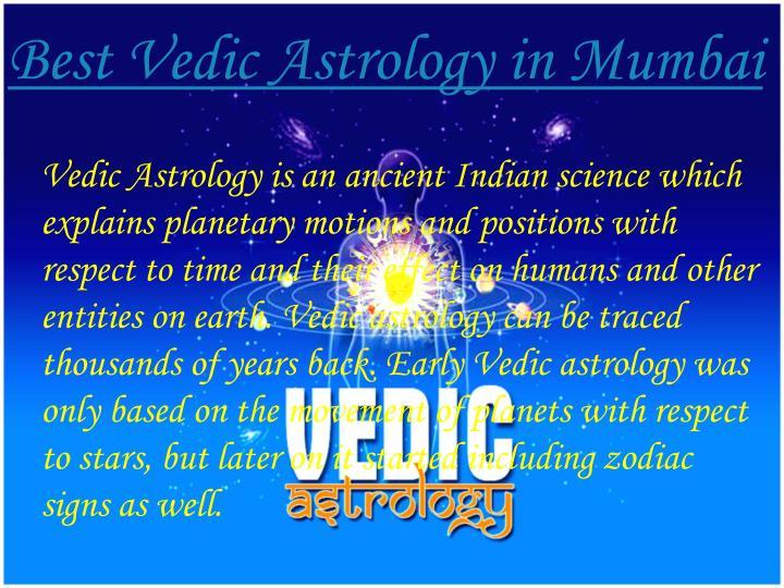 Best Vedic Astrology in