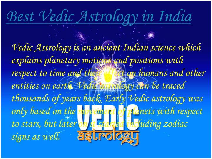Best Vedic Astrology