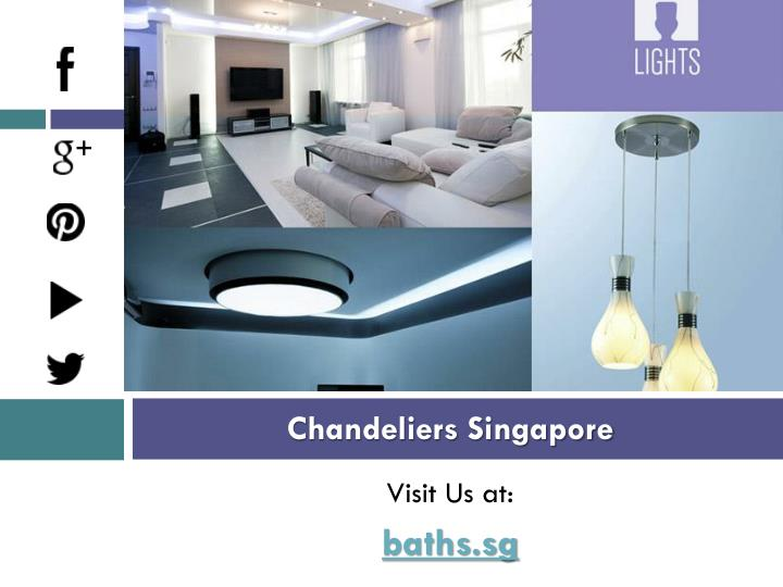 Chandeliers Singapore