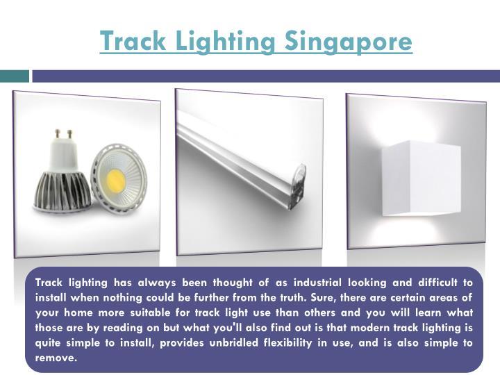 Track Lighting Singapore