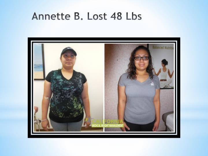 Annette B. Lost 48