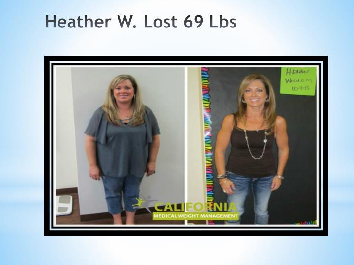Heather W. Lost 69