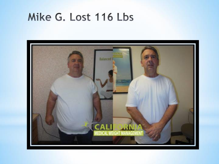 Mike G. Lost 116