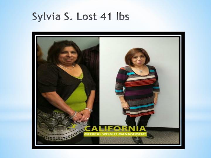 Sylvia S. Lost 41