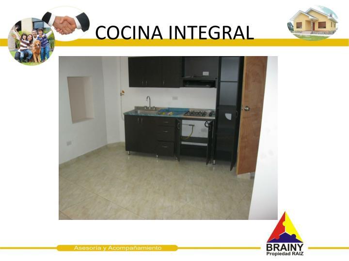 COCINA INTEGRAL