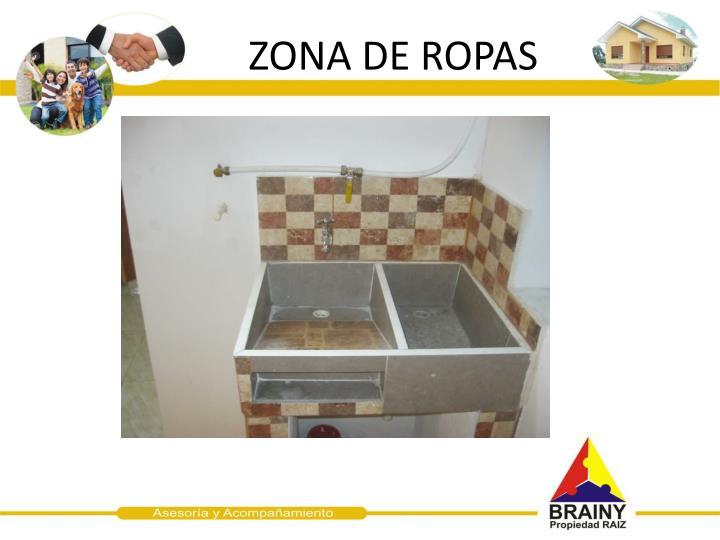 ZONA DE ROPAS