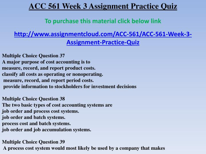 acc assignment 3