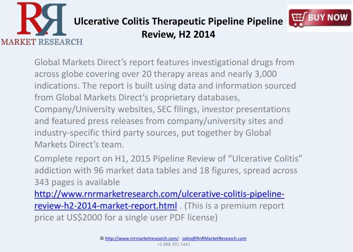 Ulcerative Colitis Therapeutic Pipeline