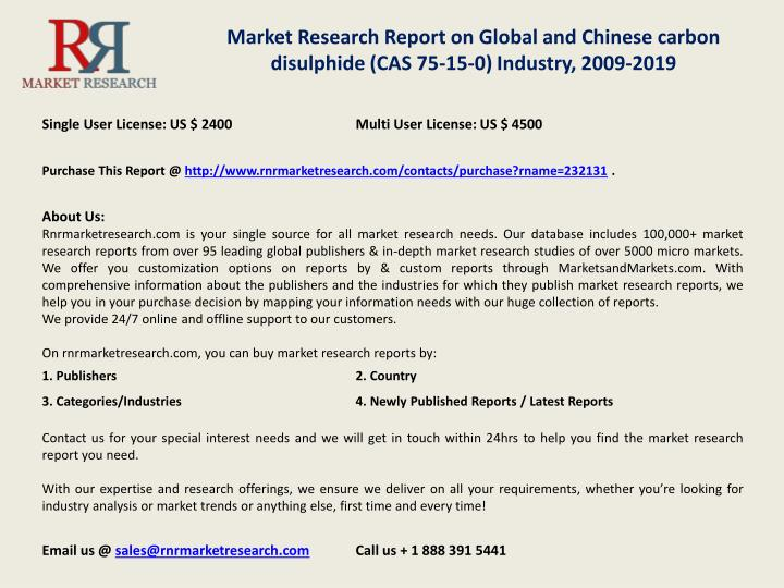 Market Research Report on Global and Chinese carbon