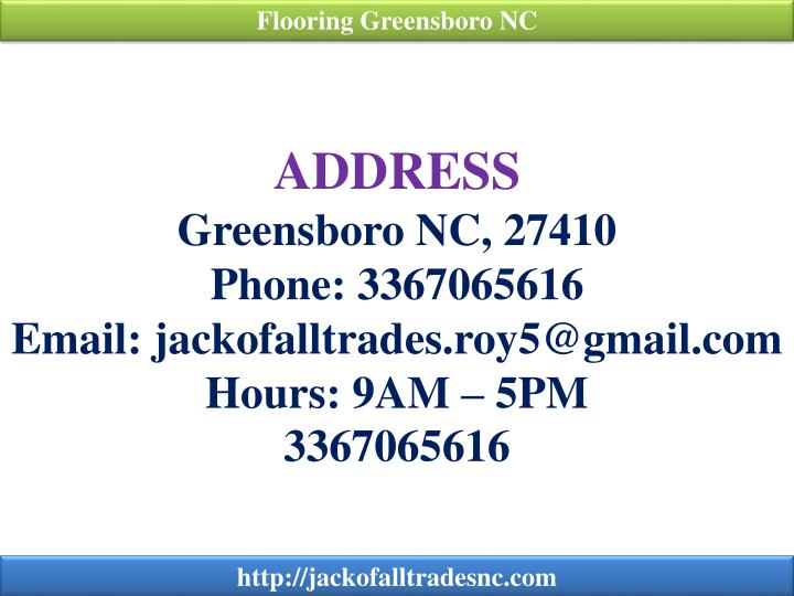 Flooring Greensboro NC