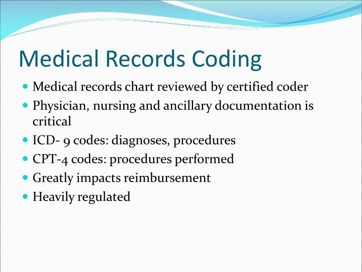 Medical Records Coding
