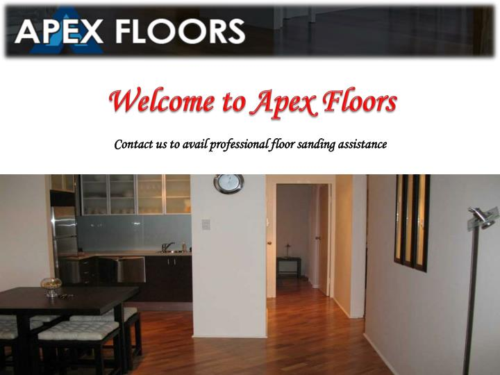 Welcome to Apex Floors