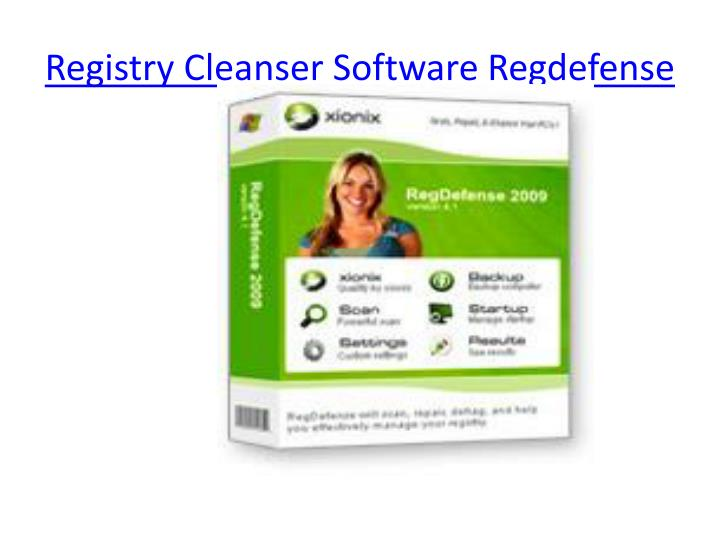 Registry Cleanser Software