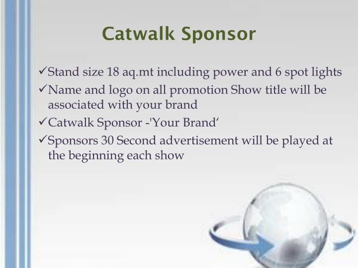 Catwalk Sponsor