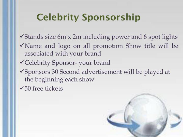 Celebrity Sponsorship