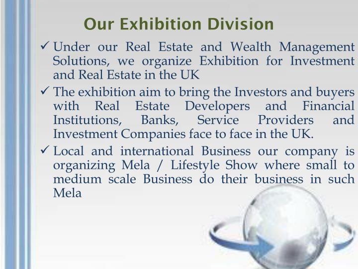 Our Exhibition Division