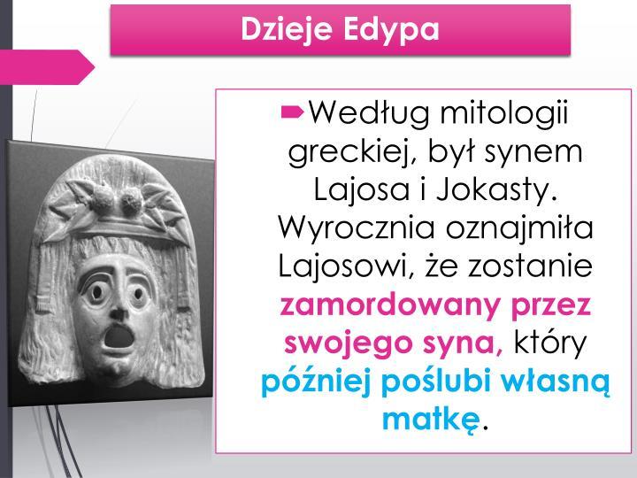 Dzieje Edypa