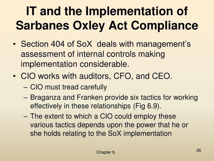 the burden of the sarbanes oxley The sarbanes-oxley statute, which the united states enacted in an atmosphere of extraordinary agitation in 2002, is one of the most influential—and controversial.
