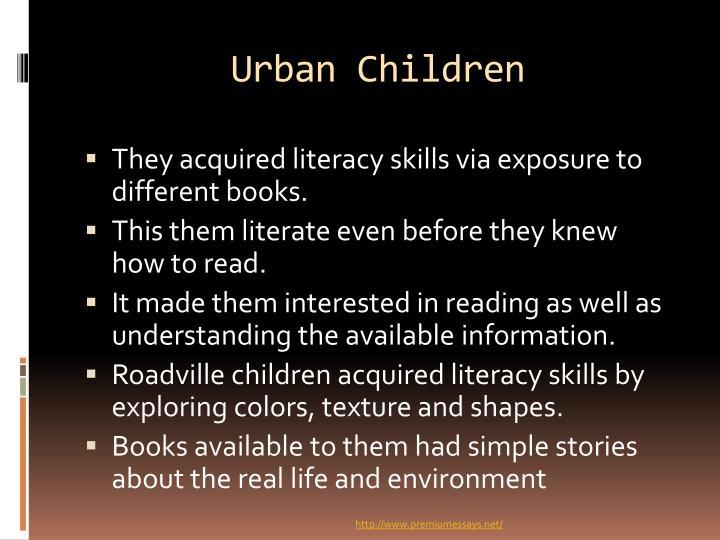 Urban Children