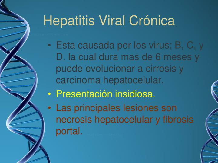 Hepatitis Viral Crónica