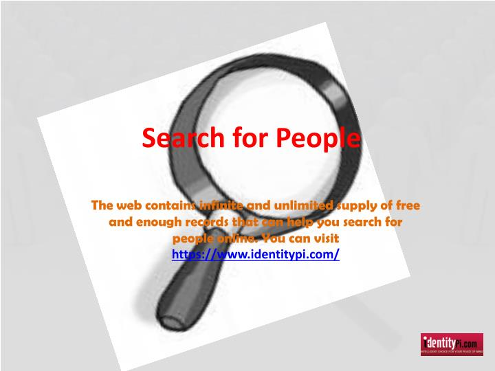search for people