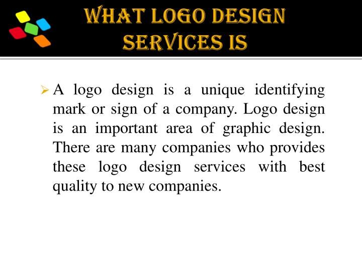 What Logo Design Services Is