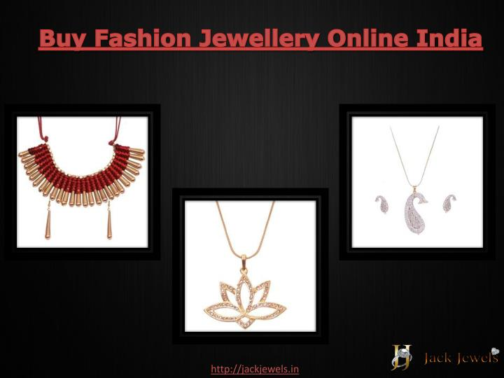 Buy Fashion Jewellery Online India