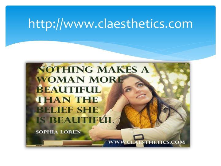 http://www.claesthetics.com