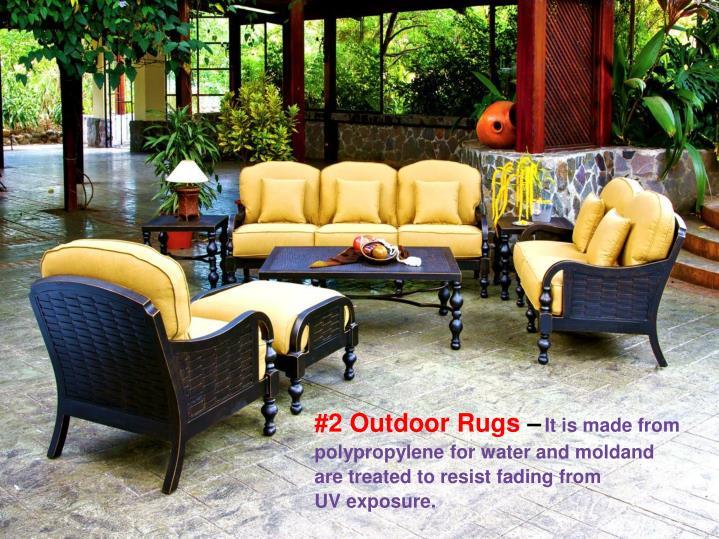 #2 Outdoor Rugs