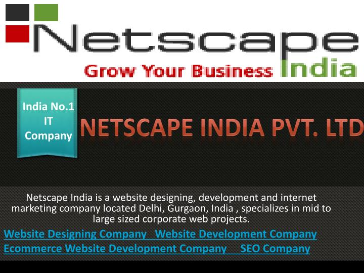 India No.1 IT Company