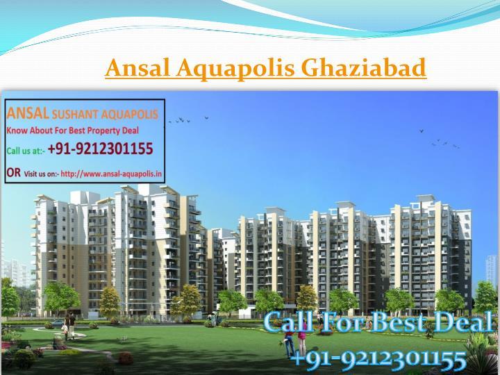Ansal Aquapolis Ghaziabad