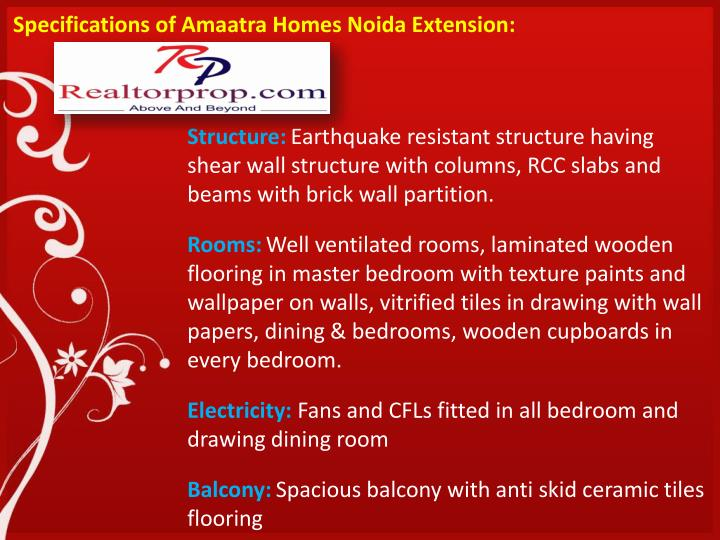 Specifications of