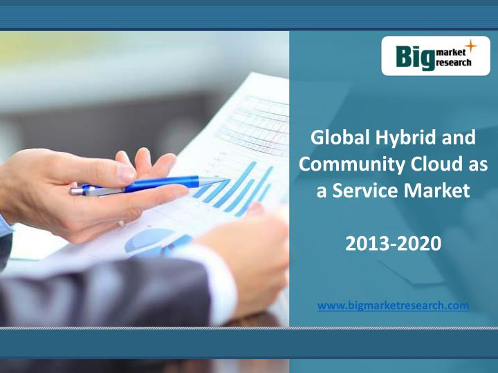 Global Hybrid and Community Cloud as a Service Market