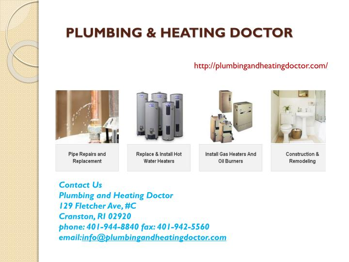 Plumbing heating doctor
