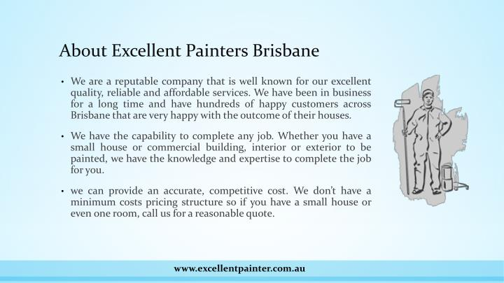 About excellent painters brisbane