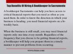top benefits of hiring a bookkeeper in sacramento6
