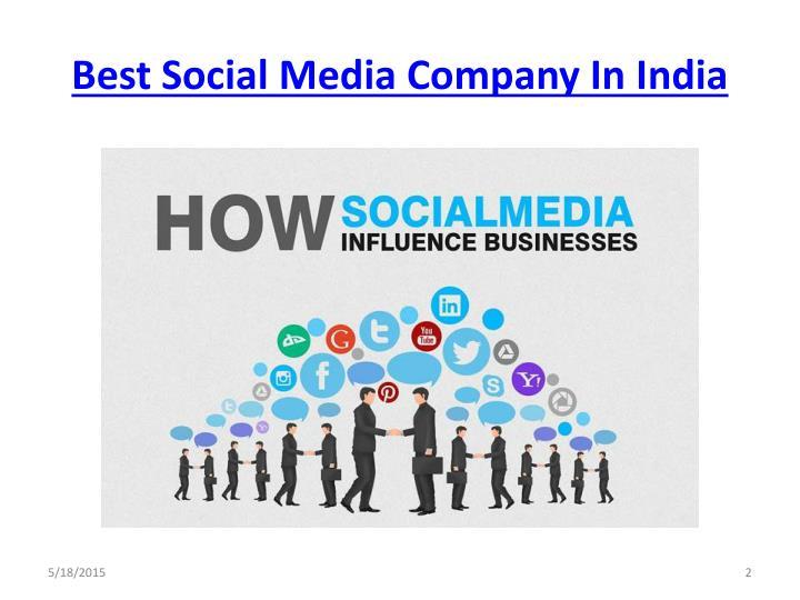Best Social Media Company In India