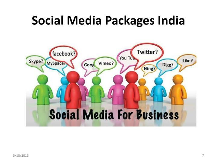 Social Media Packages India