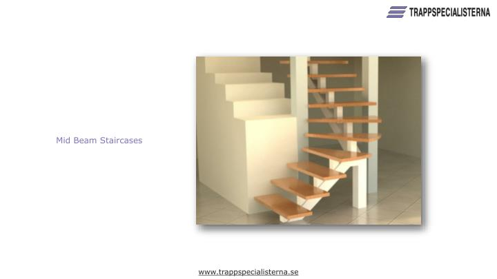 Mid Beam Staircases