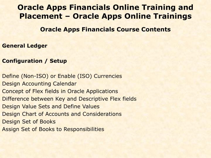 Oracle apps financials online training and placement oracle apps online trainings1