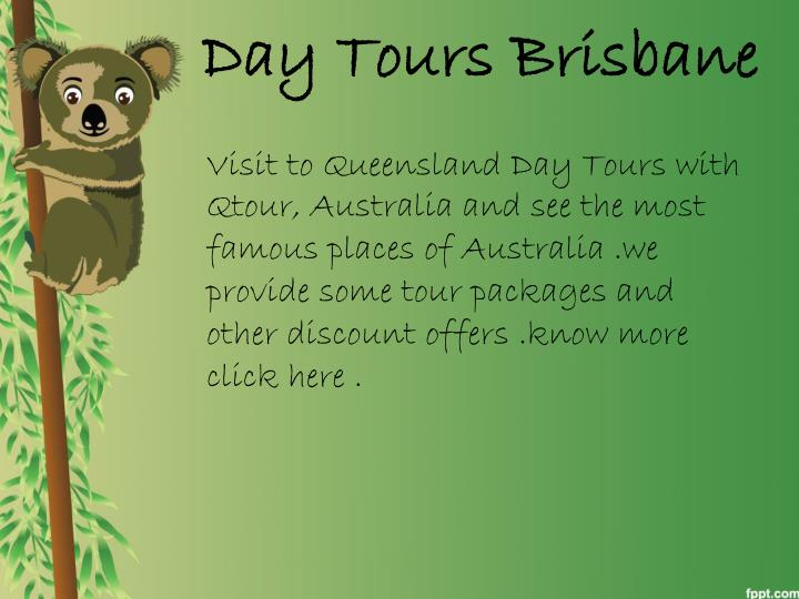 Day Tours Brisbane