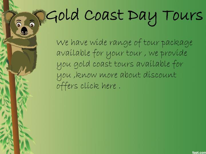 Gold Coast Day Tours