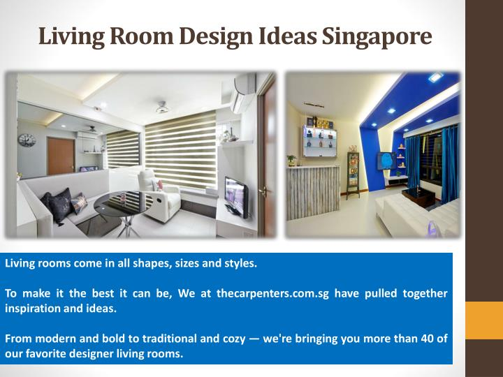Living Room Design Ideas Singapore