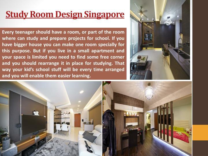 Study Room Design Singapore