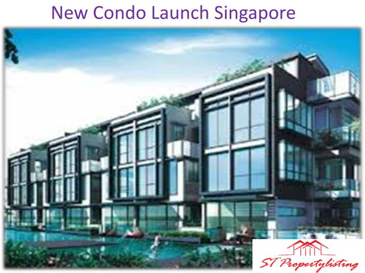 New condo launch singapore