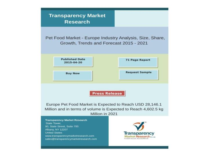 Europe pet food market is expected to reach usd 28 146 1 mil