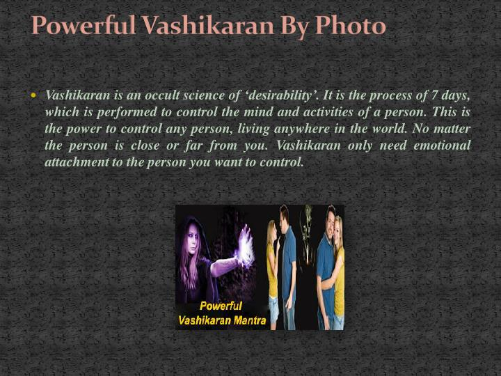 Powerful vashikaran by photo